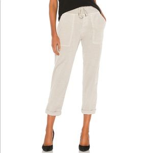 James Perse Linen Pull On Pant